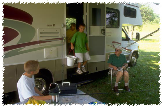 outdoor recreation fun with RVing